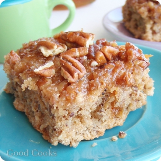 Honey Buttermilk Oatmeal Coffee Cake: For The Daring Bakers