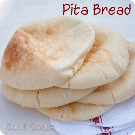 Pita Bread (all white dough)