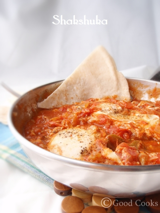 Eggs in Spicy Tomato Sauce: Shakshuka