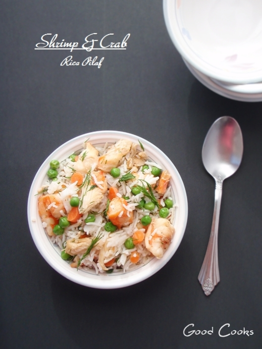 Seafood Rice Pilaf