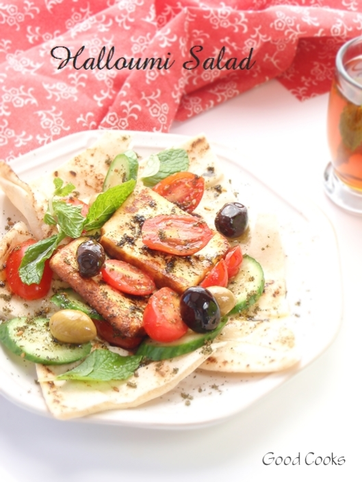 Hallomi Salad