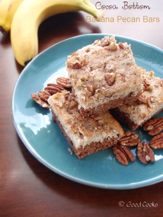 Cocoa Bottom Banana Pecan Bars