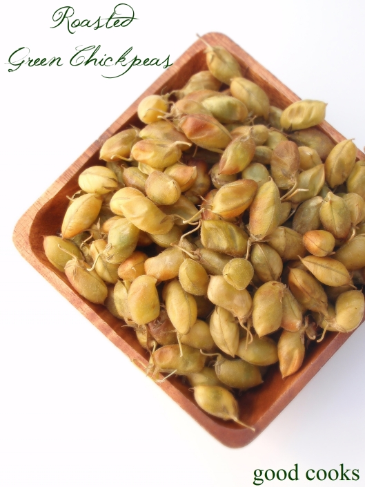 roasted green chickpeas